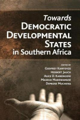 Omslag - Towards Democratic Development States in Southern Africa