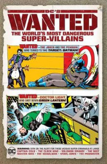DC's Wanted: The World's Most Dangerous Supervillains av Various (Innbundet)