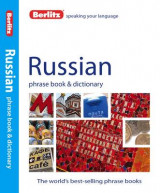 Omslag - Berlitz: Russian Phrase Book & Dictionary