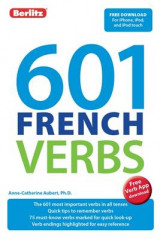 Omslag - Berlitz 601 Verb Book: French