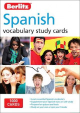 Omslag - Berlitz Language: Spanish Study Cards