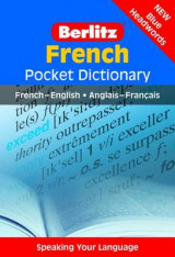 Omslag - Berlitz French Pocket Dictionary
