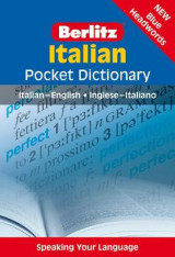 Omslag - Berlitz Italian Pocket Dictionary
