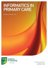 Omslag - Informatics in Primary Care