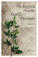 Omslag - The Essential Gaelic-English / English-Gaelic Dictionary