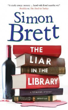 The Liar in The Library av Simon Brett (Innbundet)