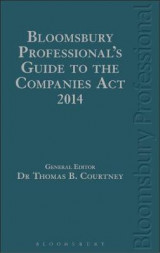Omslag - Bloomsbury Professional's Guide to the Companies Act 2014