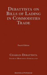 Omslag - Debattista on Bills of Lading in Commodities Trade