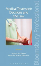 Omslag - Medical Treatment: Decisions and the Law