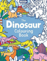 Omslag - The Dinosaur Colouring Book
