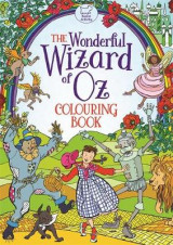Omslag - The Wonderful Wizard of Oz Colouring Book
