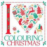 Omslag - I Heart Colouring Christmas: Part 2