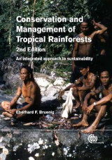 Omslag - Conservation and Management of Tropical Rainforests