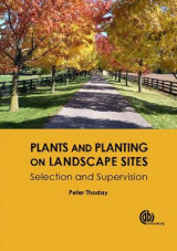 Omslag - Plants and Planting on Landscape Sites