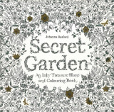 Omslag - Secret garden. An inky treasure hunt and colouring book