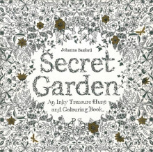 Secret garden. An inky treasure hunt and colouring book av Johanna Basford (Andre trykte artikler)