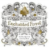 Omslag - Enchanted forest: an inky treasure hunt and colouring book