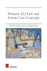 Omslag - Primary EU Law and Private Law Concepts