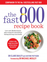 Omslag - The fast 800 recipe book