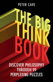 The Big Think Book av Peter Cave (Heftet)