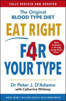 Eat Right 4 Your Type av Peter D'Adamo (Heftet)