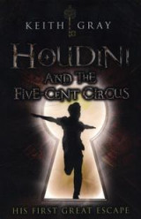 Omslag - Houdini and the Five Cent Circus