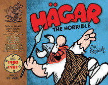 Hagar the Horrible (The Epic Chronicles) - Dailies 1980-81 av Dik Browne og Dik Browne (Innbundet)