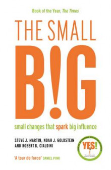 The small BIG av Steve Martin, Noah Goldstein og Professor Robert B. Cialdini (Heftet)