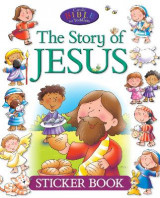Omslag - The Story of Jesus Sticker Book