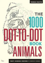 Omslag - The 1000 dot-to-dot book. Animals twenty incredible creatures to complete yourself