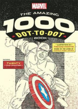 Omslag - Marvel's Amazing 1000 Dot-to-Dot Book