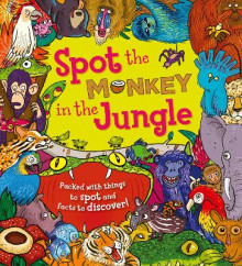 Spot the... Monkey in the Jungle av Stella Maidment (Heftet)