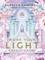 Work Your Light Oracle Cards av Rebecca Campbell (Undervisningskort)