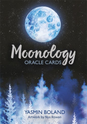 Moonology Oracle Cards av Yasmin Boland (Undervisningskort)