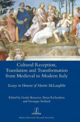 Omslag - Cultural Reception, Translation and Transformation from Medieval to Modern Italy