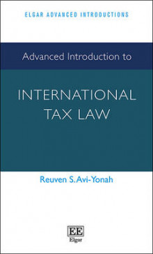 Advanced Introduction to International Tax Law av Reuven S. Avi-Yonah (Heftet)