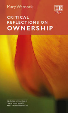 Critical Reflections on Ownership av Mary Warnock (Heftet)