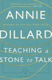 Teaching a Stone to Talk av Annie Dillard (Heftet)