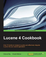 Omslag - Lucene 4 Cookbook