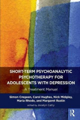 Omslag - The Short-Term Psychoanalytic Psychotherapy for Adolescents with Depression