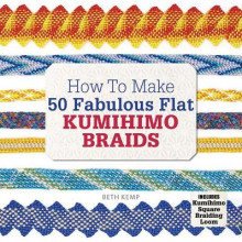How to Make 50 Fabulous Flat Kumihimo Braids av Beth Kemp (Heftet)