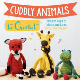 Omslag - Cuddly Animals to Crochet