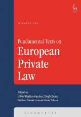 Omslag - Fundamental Texts on European Private Law
