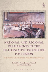 Omslag - National and Regional Parliaments in the EU-Legislative Procedure Post-Lisbon