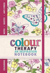 Colour Therapy Notebook av Sam Loman (Heftet)