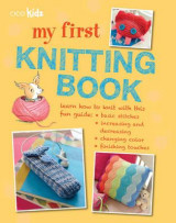 Omslag - My first knitting book