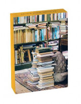 Omslag - At Home with Books Classic Notecards