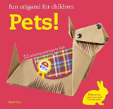 Omslag - Fun Origami for Children: Pets!