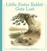 Omslag - Little Sister Rabbit Gets Lost