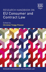 Omslag - Research Handbook on EU Consumer and Contract Law